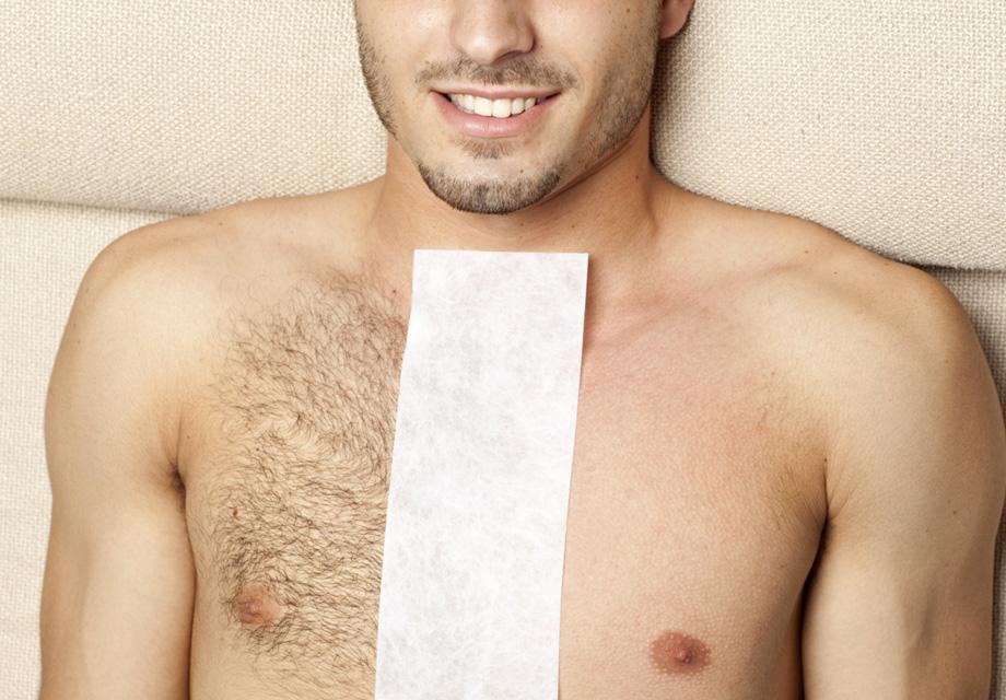 Waxed-REMOVE BODY HAIR